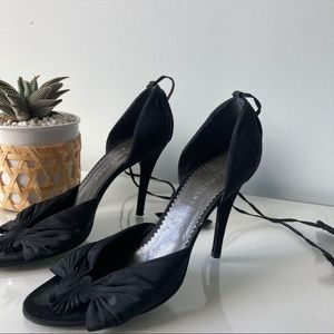STELLA McCARTNEY Heels with Ankle Ties Size 7